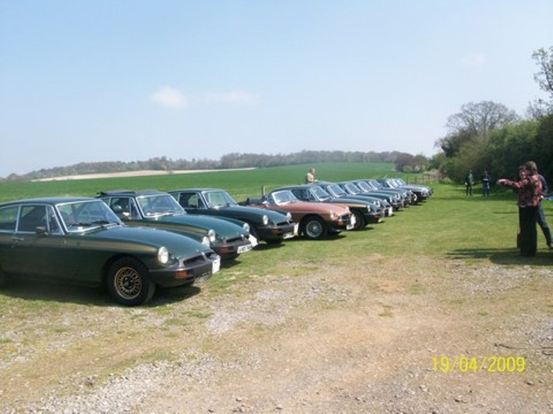 Lunch Time Line Up at 'The King Bill'
