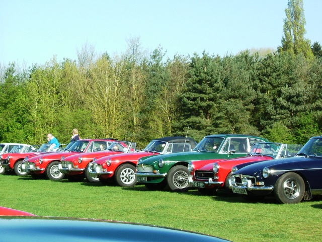 MGB Register Spring Run 10th April 2011