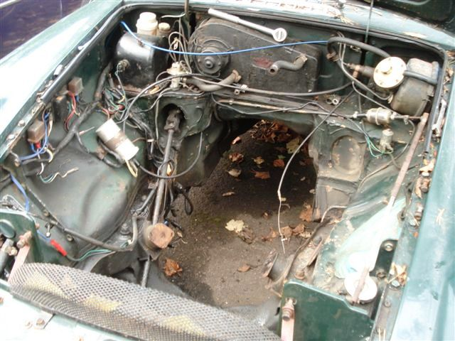 Old 1800 Engine Bay Layout