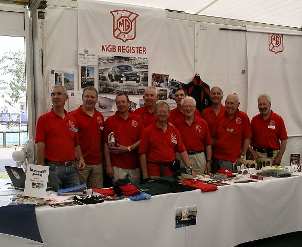 MGB Register Team