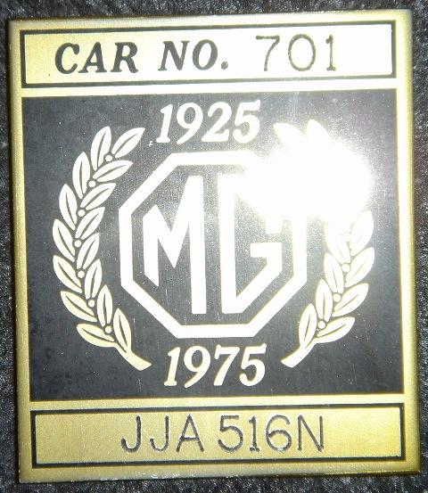 Plaque 701